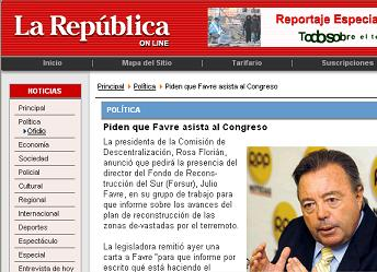 29 set la republica