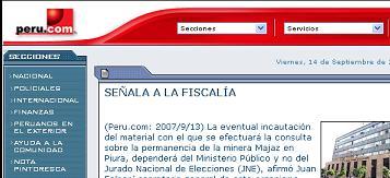 peru.com 13sept