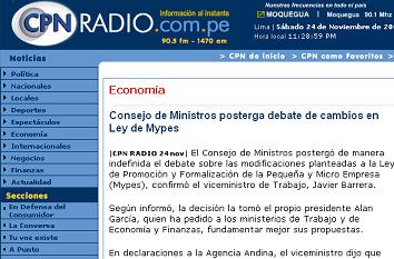 leyMYPES