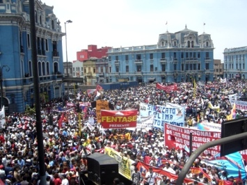 marcha plaza 2mayo