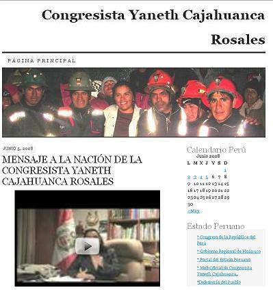 Blog Congresista Yaneth Cajahuanca Rosales