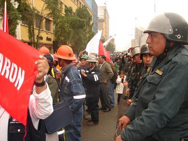 Huelga Minera Perú