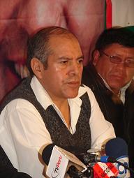 Sec. Gral. de la FNTMMSP, Lu�s Castillo Carlos