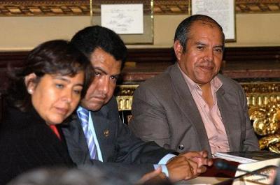 Luis Castillo Carlos, Sec. Gral de la FNTMMSP en el Congreso