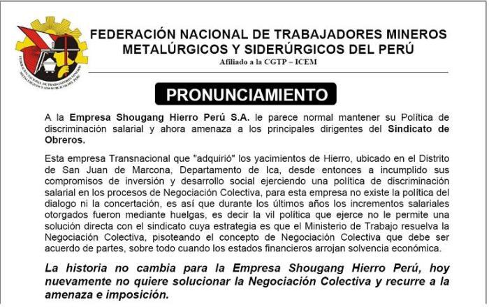 Pronunciamiento_FNTMMSP