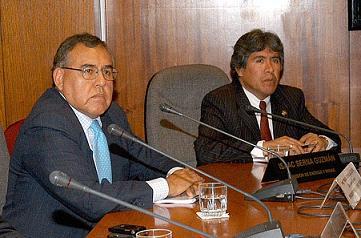 Ing. Vera La Torre y el Congresista Fredy Serna Guzmán