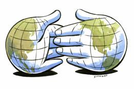 ¿Si los imperios se dan la mano, por qué los pueblos no?