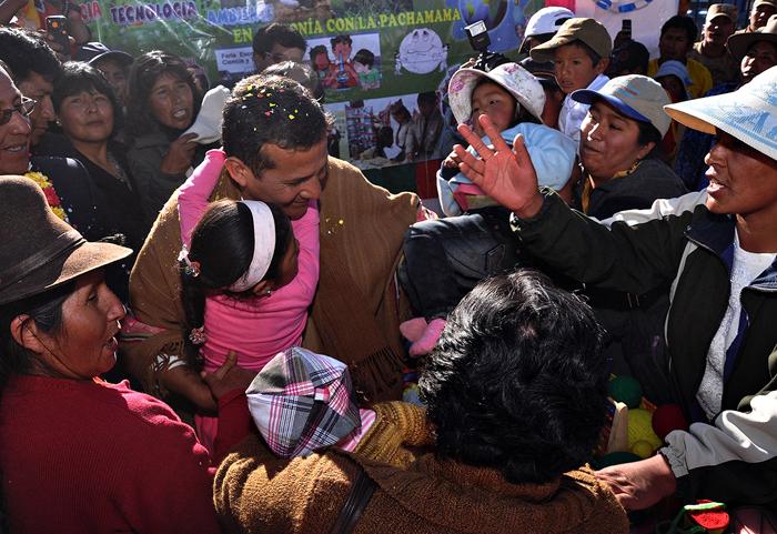 Presidente Ollanta Humala en Tirapata, Puno.